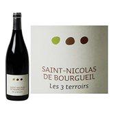 as Vin St Nicolas de Bourgueil Les 3 terroirs Rouge 75cl