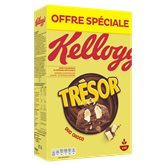 Kellogg's Céréales Trésor Kellogg's Duo choco - 750g