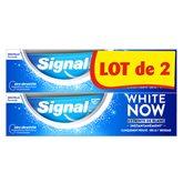 Signal Dentifrice Blancheur Signal White Now Original - 2x75ml