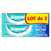 Signal Dentifrice Blancheur Signal White NowIce Cool - 2x75ml
