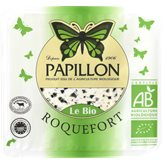 Fromageries Papillon Roquefort Bio - AOP Papillon - 32%mg  100g