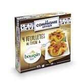 La Compagnie Artique Feuilletés Compagnie Artique Thon  fromage boursin - 4x80g