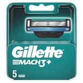 Gillette Lames Mach3+ Gillette x5