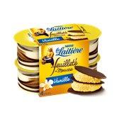 Nestlé Feuilleté de mousse La Laitière Vanille- 4x57g