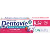 Dentavie Dentifrice enfant bio Dentavie Dent de lait dès 2 ans - 75ml