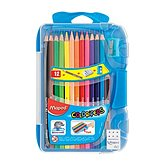 Maped Crayons de couleurs Maped x12 + 1 gomme